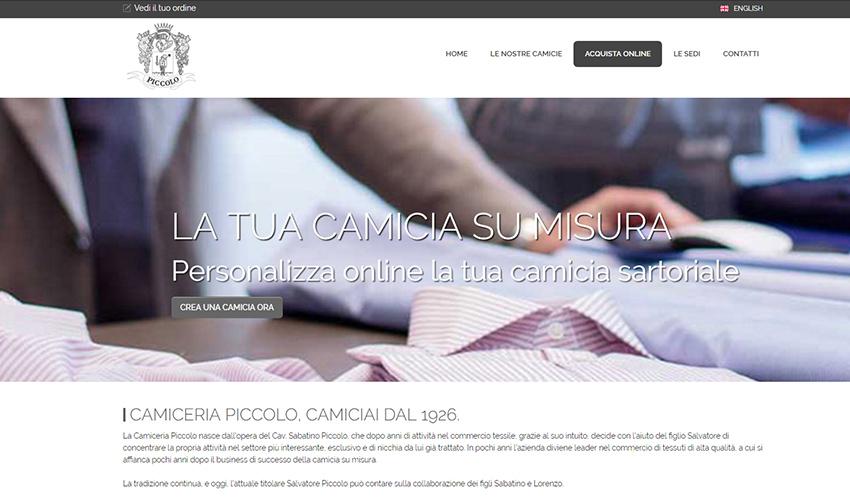 finest selection 60b43 3b756 Creazione sito internet con ecommerce su misura