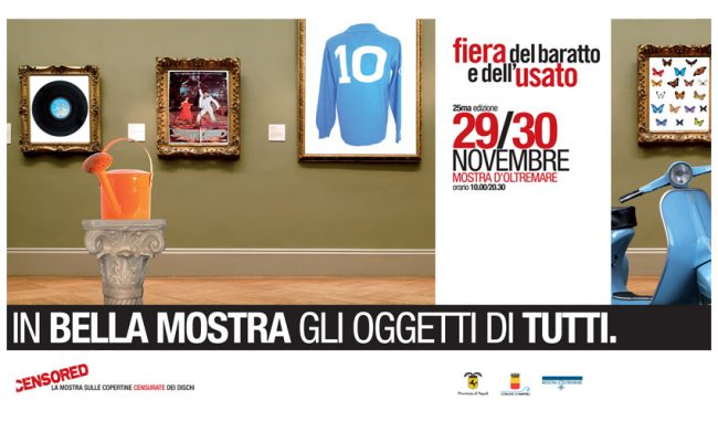 Manifesto 6x3 Evento a Napoli