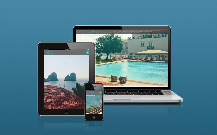 Sito internet Capri Location service