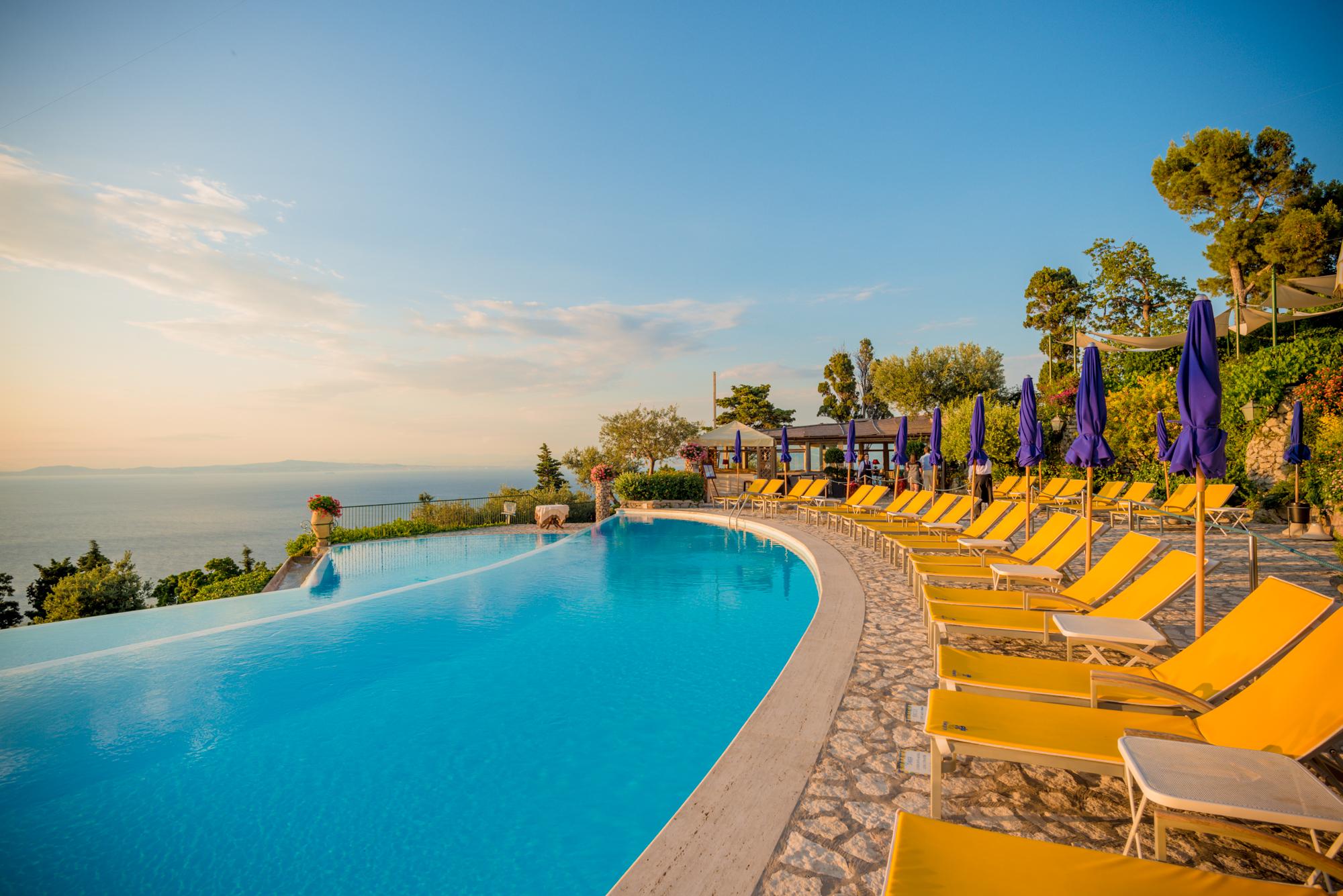 Foto piscina Hotel Caesar Augustus Anacapri