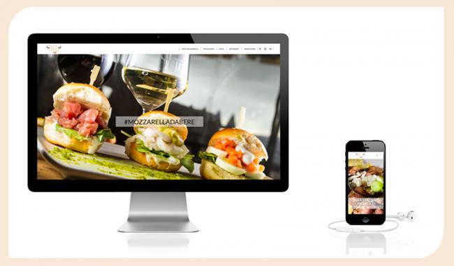 Homepage del sito web