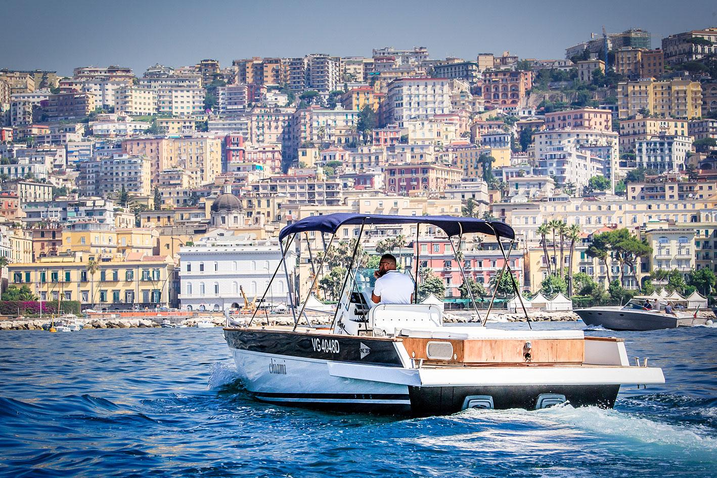Set fotografico barche Napoli