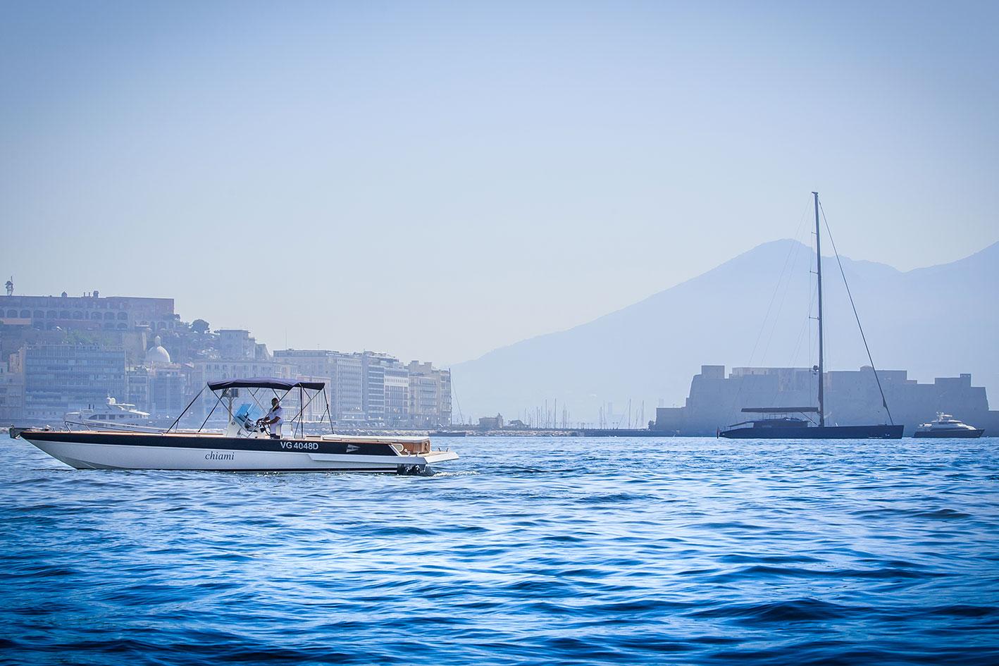 Realizzazione foto barche Napoli