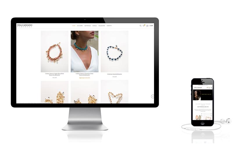 Sito e-commerce gioielleria