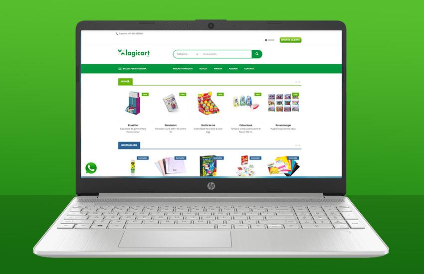 E-commerce connesso a Passepartout